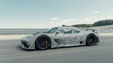 Mercedes-AMG Project One: 3/4 anteriore