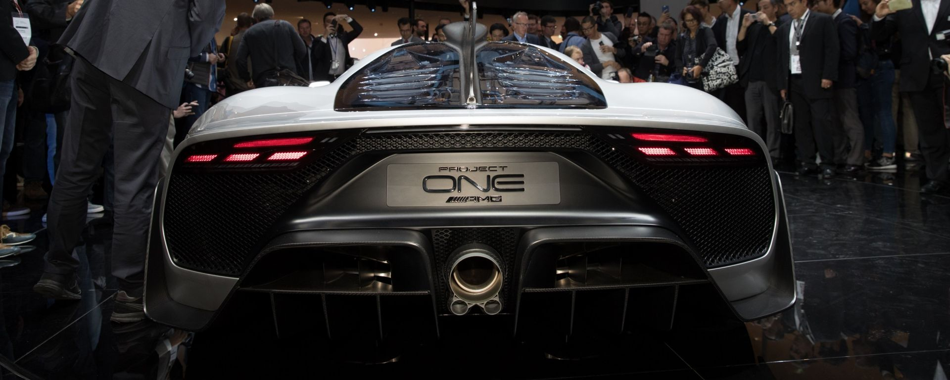 Mercedes AMG Project One, Salone di Francoforte 2017