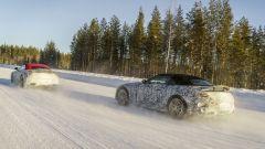 Mercedes AMG SL 2021: i test nelle rigide condizioni climatiche della Svezia