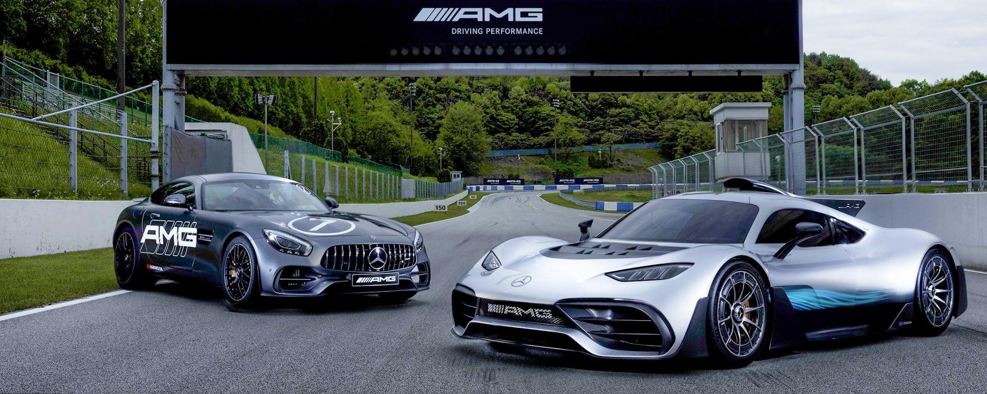 Mercedes AMG Speedway: la prima pista AMG è in Corea del Sud