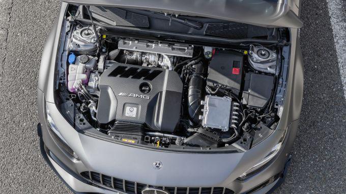 Mercedes-AMGN A 45 S 4matic+ 2020: il motore