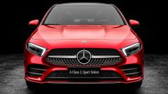 Mercedes-Benz Classe A Berlina: vista frontale