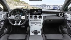 Mercedes-Benz Classe C Coupé: abitacolo con finiture di qualità
