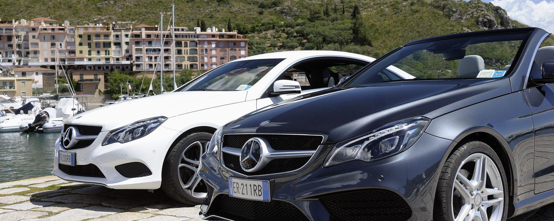 Mercedes Classe E Cabrio e Coupé