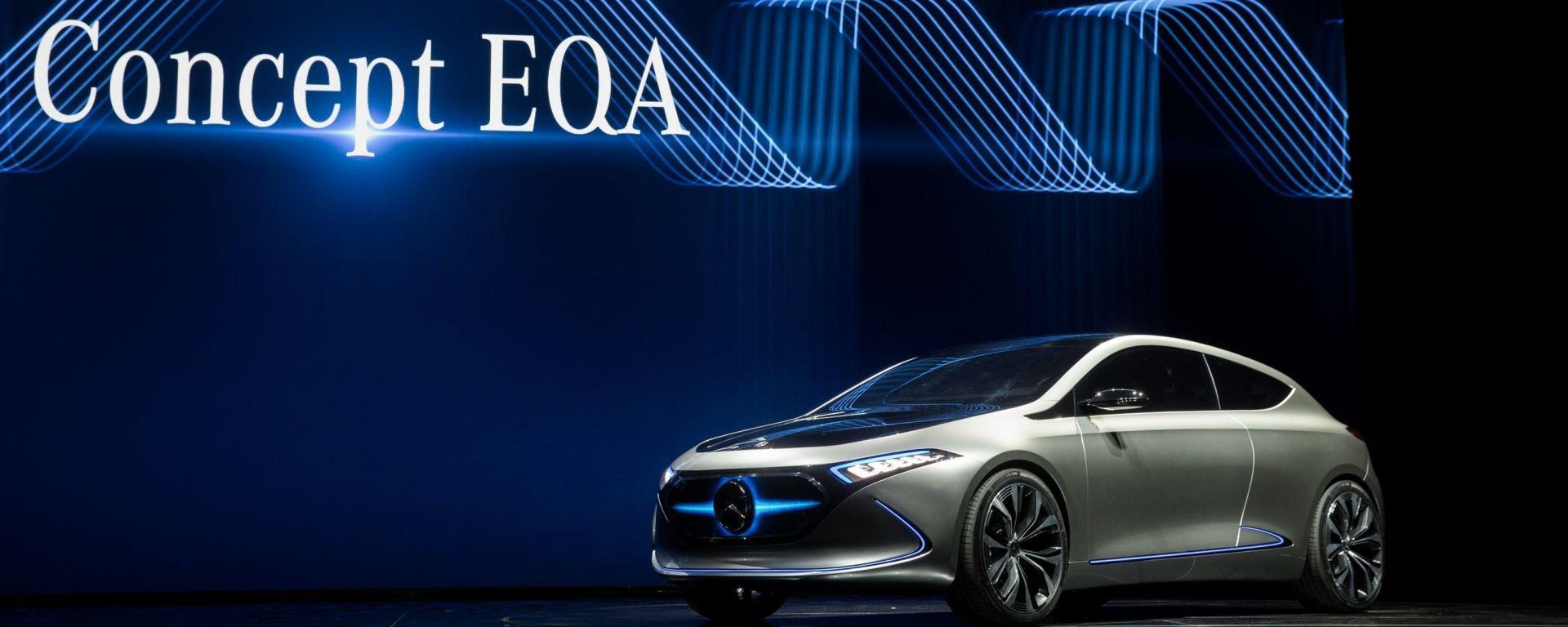 Mercedes Benz, Concept EQA, Salone di Francoforte 2017