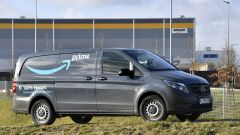 Mercedes-Benz, conferenza stampa 2020: i van elettrici per Amazon