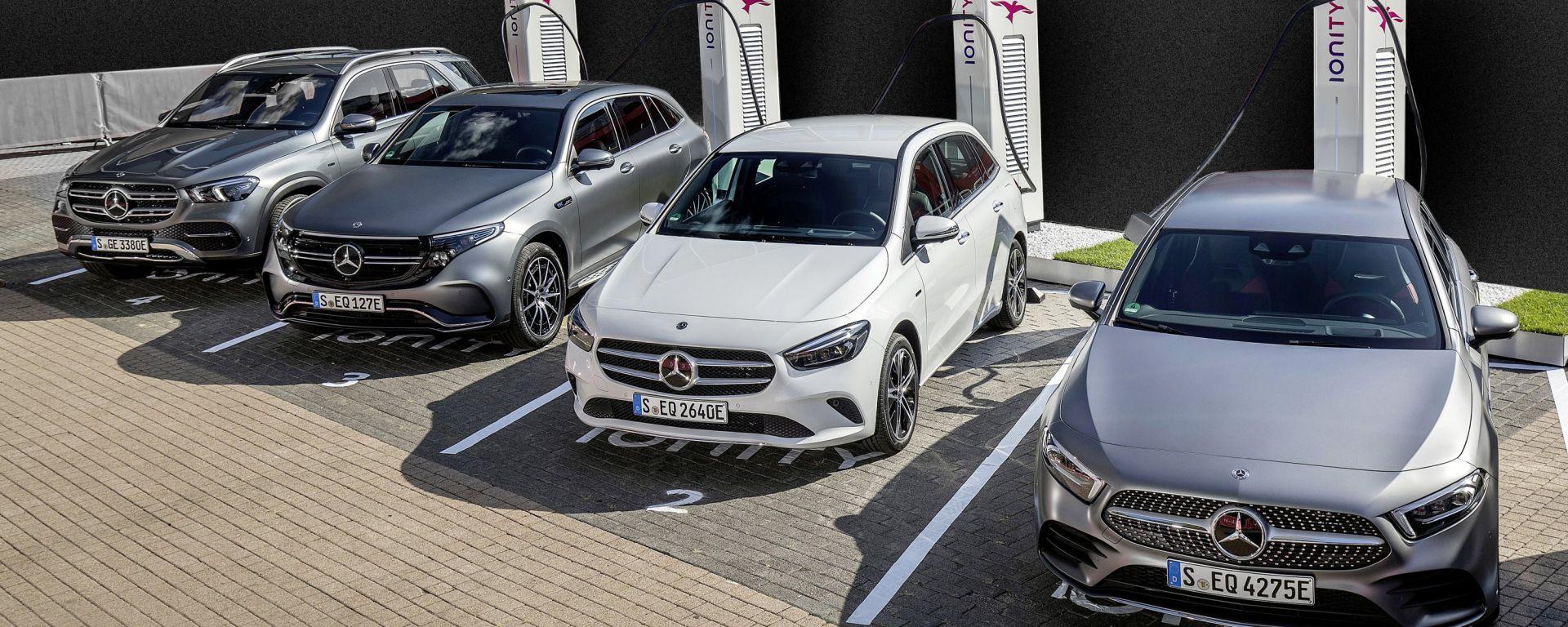 Mercedes-Benz, conferenza stampa 2020: le auto elettriche