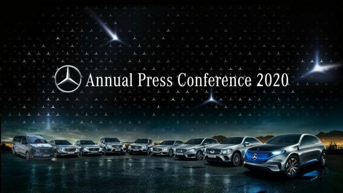 Mercedes-Benz, conferenza stampa di fine anno
