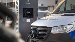 Mercedes-Benz e-Sprinter: la presa di ricarica