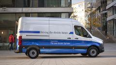 Mercedes-Benz e-Sprinter: visuale laterale