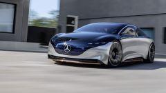 Mercedes Benz EQS: il frontale