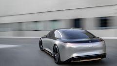 Mercedes Benz EQS: il posteriore