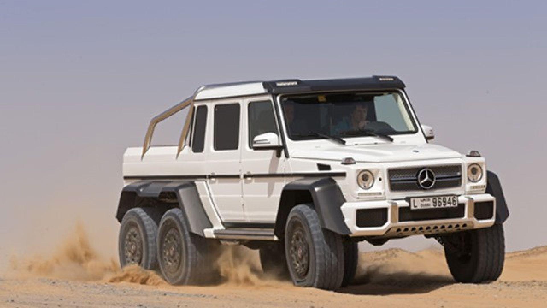 Estremo: Mercedes-Benz Classe G 63 AMG 6x6 - MotorBox