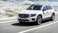 Mercedes-Benz GLB: dettaglio frontale