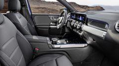 Mercedes-Benz GLB: gli interni