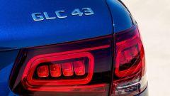 Mercedes-Benz GLC 43 4Matic AMG Suv, gli inediti fari posteriori
