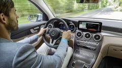 Mercedes-Benz GLC F-CELL: dettaglio degli interni
