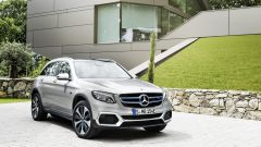 Mercedes-Benz GLC F-CELL: vista 3/4 anteriore