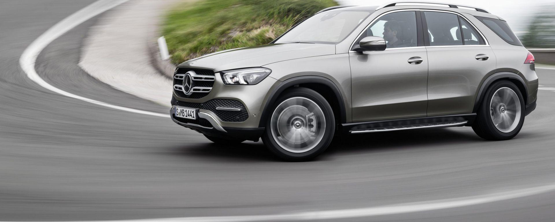 Mercedes-Benz GLE dinamica
