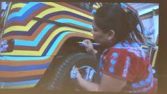 Mercedes-Benz SUVAttack 2021: gli artisti messicani hanno colorato a mano la Classe G