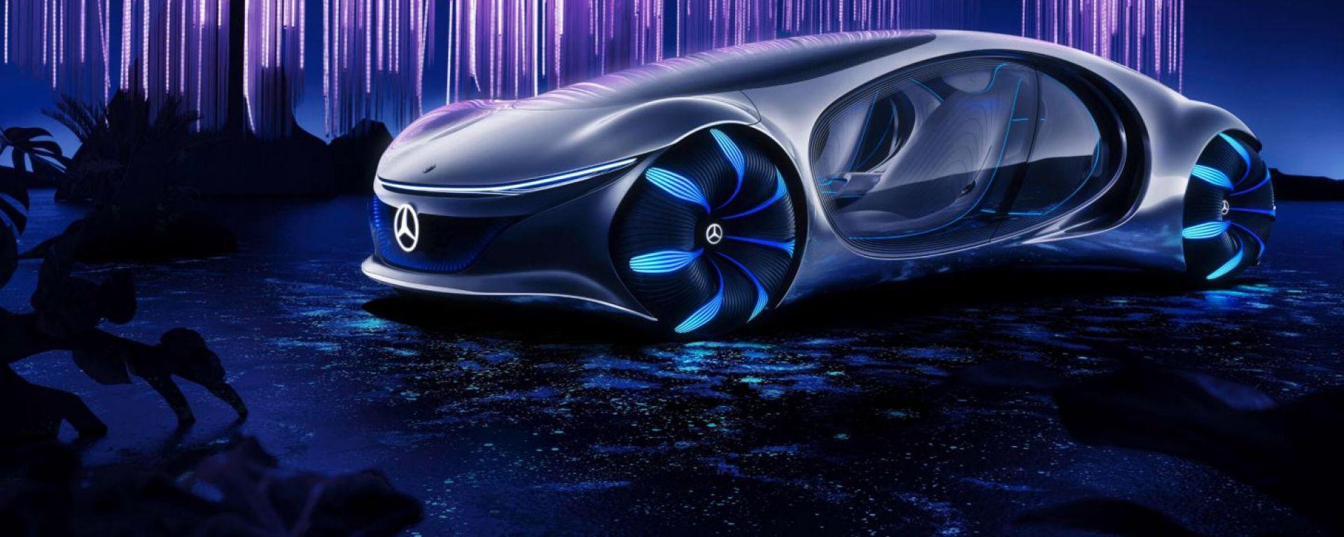 Mercedes-Benz Vision AVTR al CES 2020