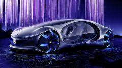Mercedes-Benz Vision AVTR: visuale di 3/4 anteriore