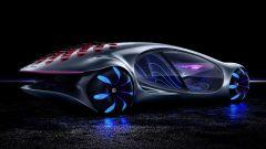Mercedes-Benz Vision AVTR: visuale di 3/4 posteriore