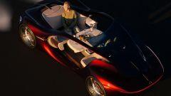 Mercedes-Benz Vision Duet: abitacolo all'occorrenza tavolo da picnic