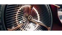 Mercedes-Benz Vision Duet: i grandi cerchi a lamelle e il LED circolare al loro interno
