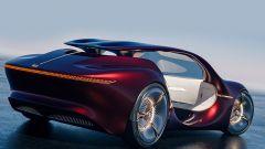 Mercedes-Benz Vision Duet: il posteriore e la cornice LED
