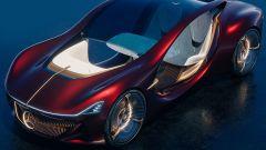 Mercedes-Benz Vision Duet: vista 3/4 anteriore dall'alto