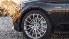 Mercedes C 43 AMG, i cerchi sono sytati progettati in galleria del vento