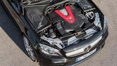Mercedes C 43 AMG il propulsore 3.0 litri V6 sviluppa 386 CV