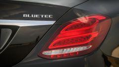 Mercedes C220 d Sport: dettaglio del fanale posteriore