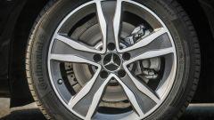 Mercedes C220 d Sport: dettaglio della ruota