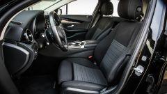 Mercedes C220 d Sport: i sedili anteriori