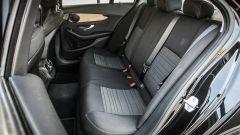 Mercedes C220 d Sport: i sedili posteriori