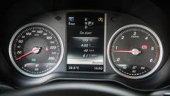 Mercedes C220 d Sport: il quadro strumenti