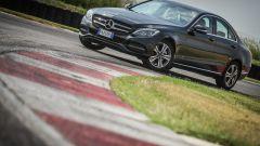 Mercedes C220 d Sport: vista 3/4 anteriore