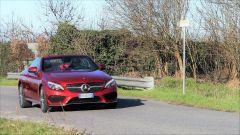 Mercedes C220d Cabrio 4matic: prova su strada