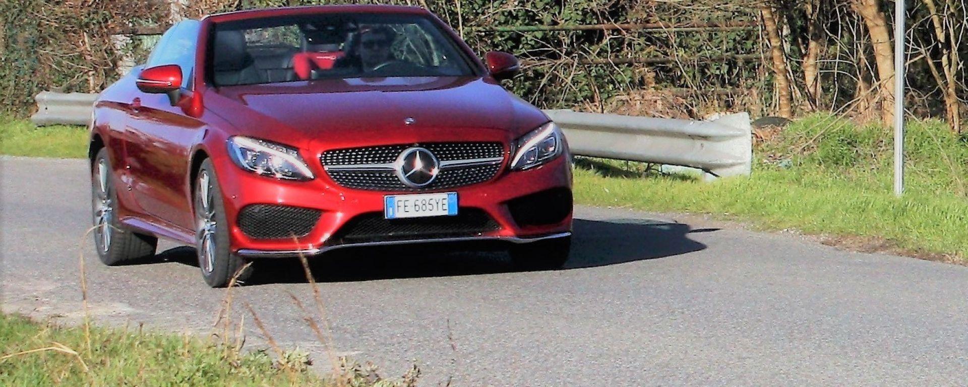 Mercedes C220d 4matic Cabrio Automatic Premium: test drive