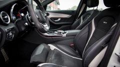 Mercedes C63 AMG S: di serie ci sono sedili sagomati ma non sportivi all'estremo