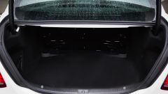 Mercedes C63 AMG S: il bagagliaio è comodo e ben sagomato