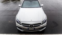 Mercedes C63 AMG S: il muso trasmette tanta cattiveria
