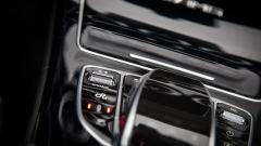Mercedes C63 AMG S: il pulsante per la selezione delle modalità di marcia è poco appariscente