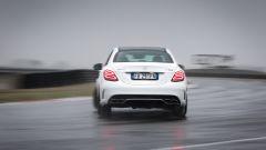 Mercedes C63 AMG S: in modalità Race l'elettronica si fa ben più permissiva