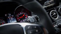 Mercedes C63 AMG S: le palette del cambio automatico non sono poi così grosse