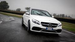 Mercedes C63 AMG S: sotto il cofano c'è il V8 biturbo di 4 litri da 510 cv e 700 Nm di coppia
