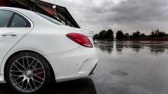 Mercedes C63 AMG S: un piccolo accenno di spoiler sulla coda