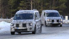 Mercedes Citan 2021: due versioni in fase di test